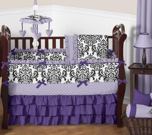 Sloane 9 Piece Crib Bedding Collection
