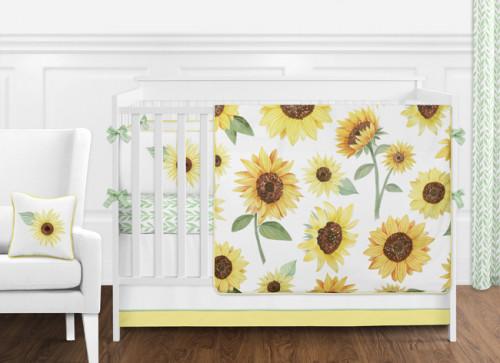 Sunflower 9 Piece Crib Bedding Collection