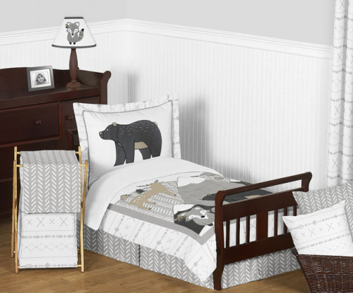 Woodland Friends Collection Toddler Bedding