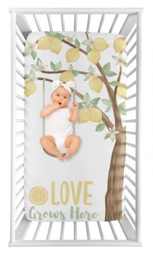 Lemon Collection Photo Op Crib Sheet