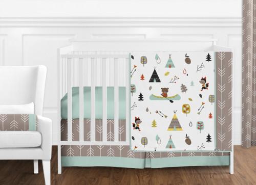 Outdoor Adventure Collection 11 Piece Bumperless Crib Bedding Collection