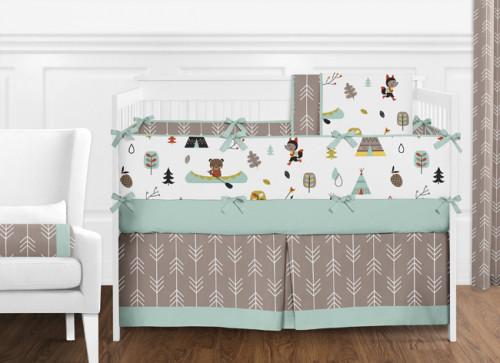 Outdoor Adventure 9 Piece Crib Bedding Collection Collection