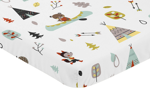 Outdoor Adventure Collection Mini Crib Sheet